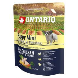 Ontario Puppy Mini Chicken & Potatoes 0,75kg